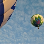 Vallée de la Loire, vol en montgolfière