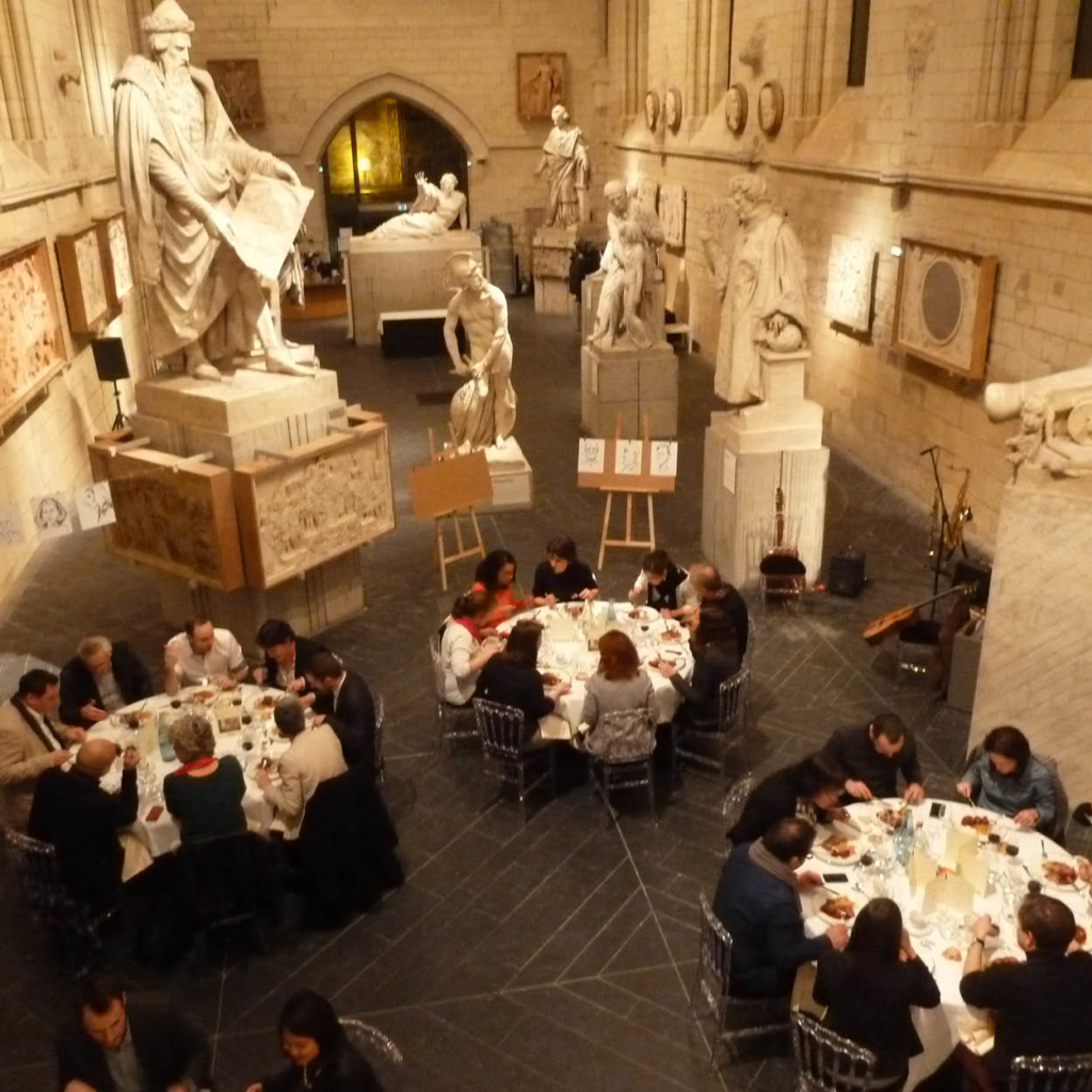 soiree entreprise musee david angers