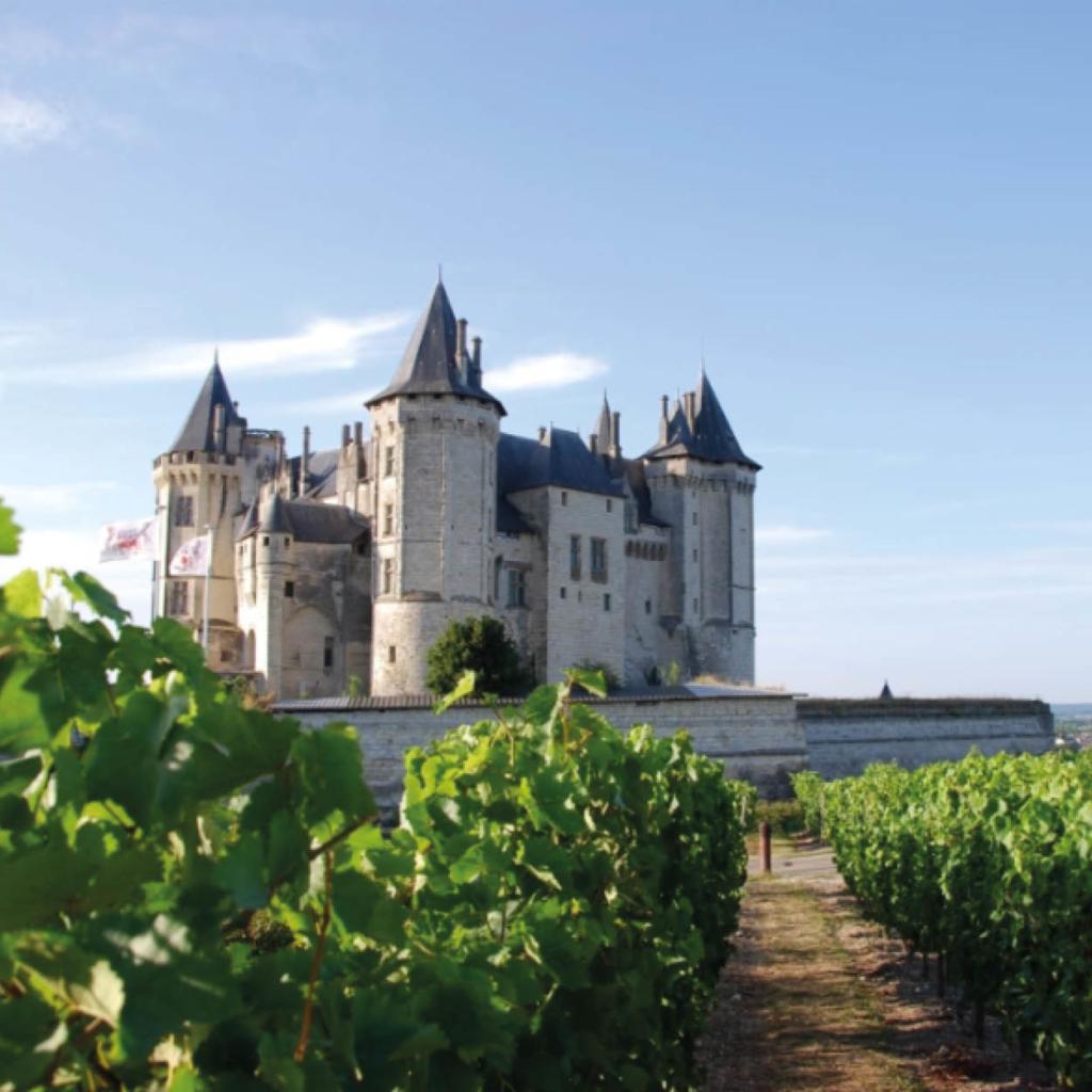chateau saumur sejour vintage