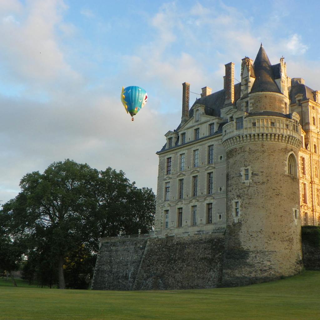 chateau brissac douceur angevine sejouor en anjou