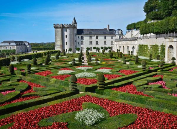 chateau jardins villandry