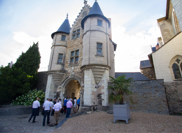 soiree entreprise angers chateau