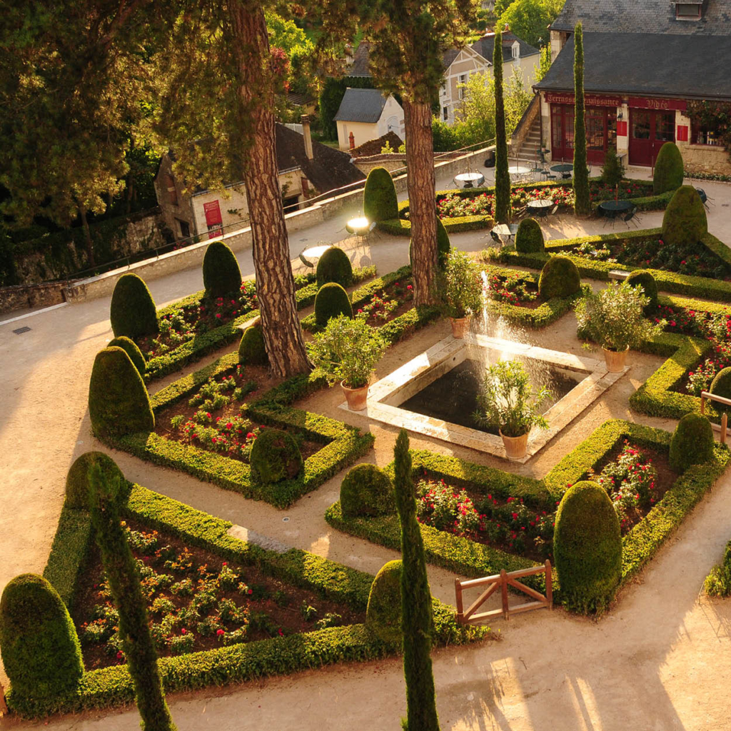 jardin clos lucé