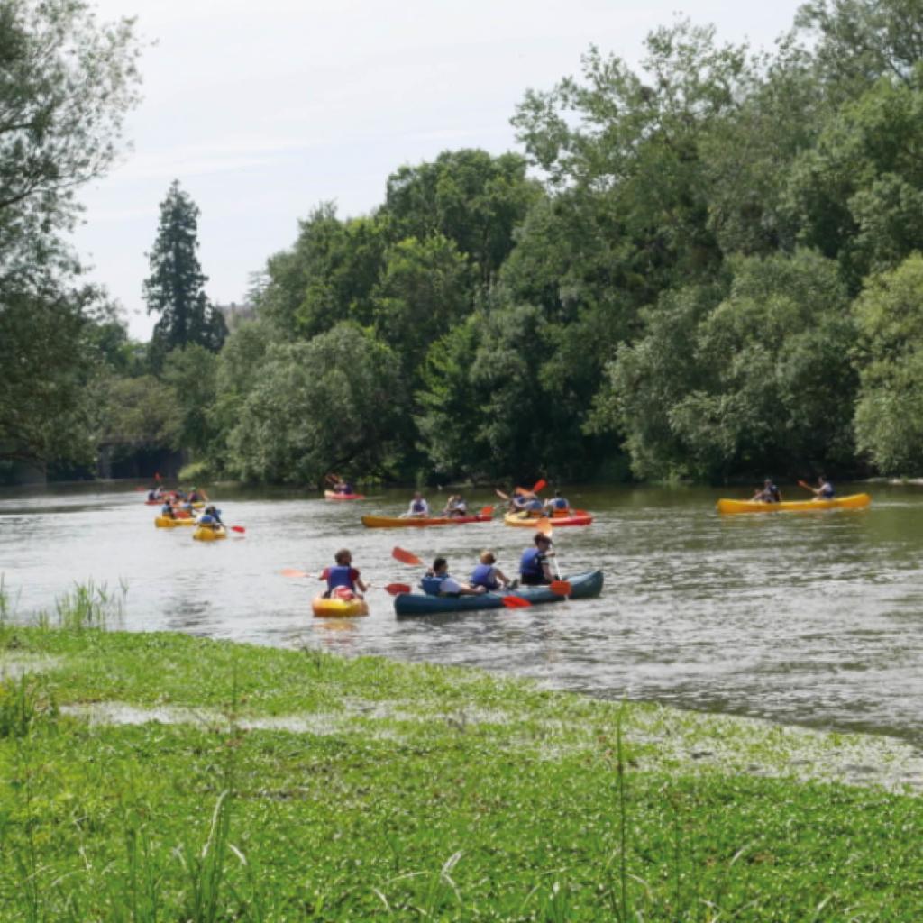 biathlon velo canoe