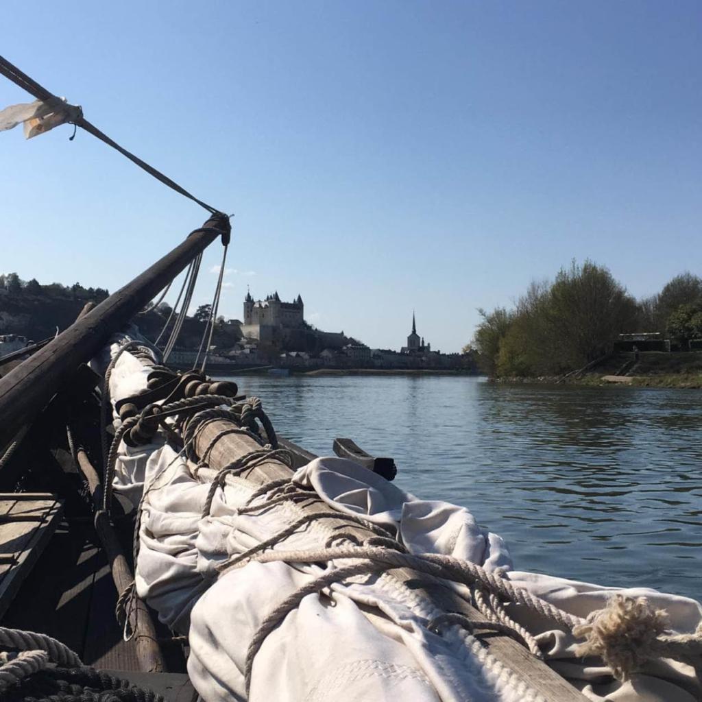 croisiere sur la loire bateau vacances saumur detente anjou