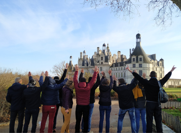 challenges chambord team building blois