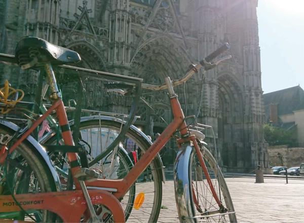 city break bicyclette