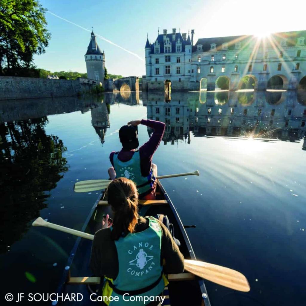 canoe sejour chenonceau